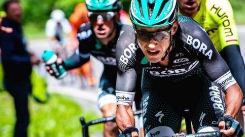 Las piernas de un ciclista (Poljanski) antes de otra de las etapas duras del Tour