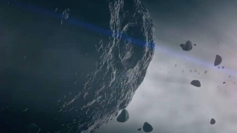 Así se ve desde la Tierra el asteroide que viajará por el Sistema Solar este 29 de abril