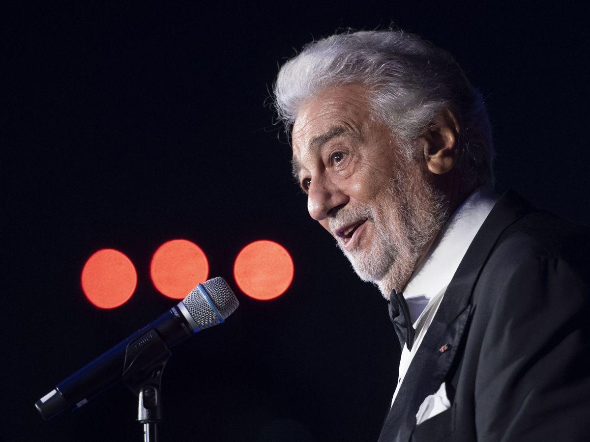 Foto: El cantante español Plácido Domingo. (EFE)