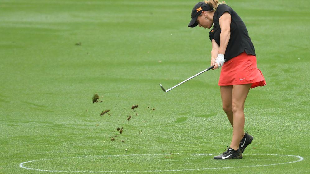 Foto: Celia Barquín Arozamena, en el pasado US Women's Open Championship. (Reuters)