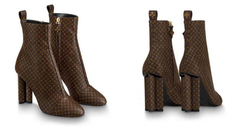 Botines de Louis Vuitton. (Cortesía)