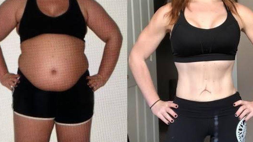 Así perdió 38 kilos esta mujer, que aún bebe cerveza como antes