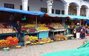Un viaje al mercado de Otavalo
