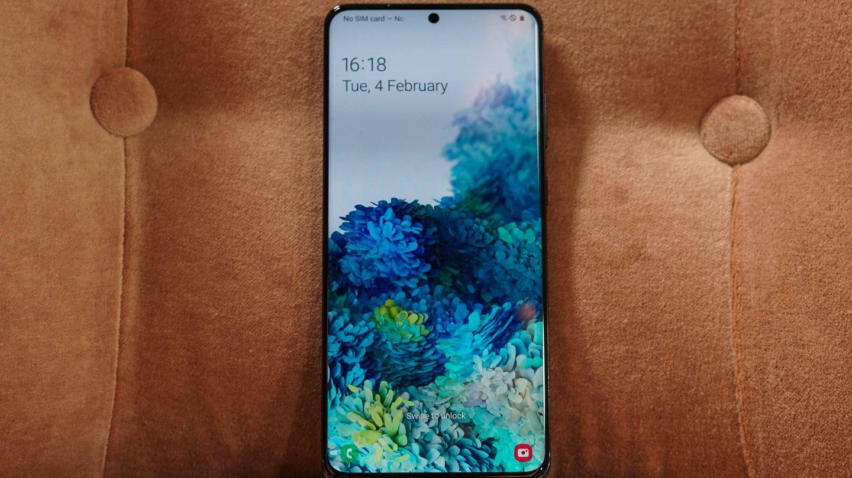 Samsung Galaxy S20 Ultra. (M. Mcloughlin)
