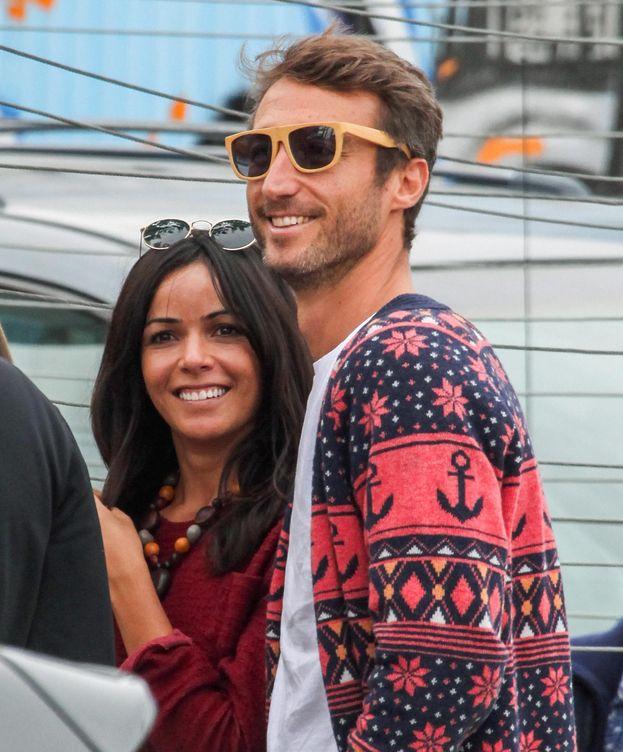 Foto: Raquel del Rosario y su marido, Pedro Castro, en las calles de Los Angeles (Gtres)