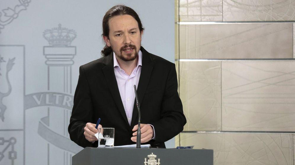 Foto: El vicepresidente del Gobierno, Pablo Iglesias. (EFE)