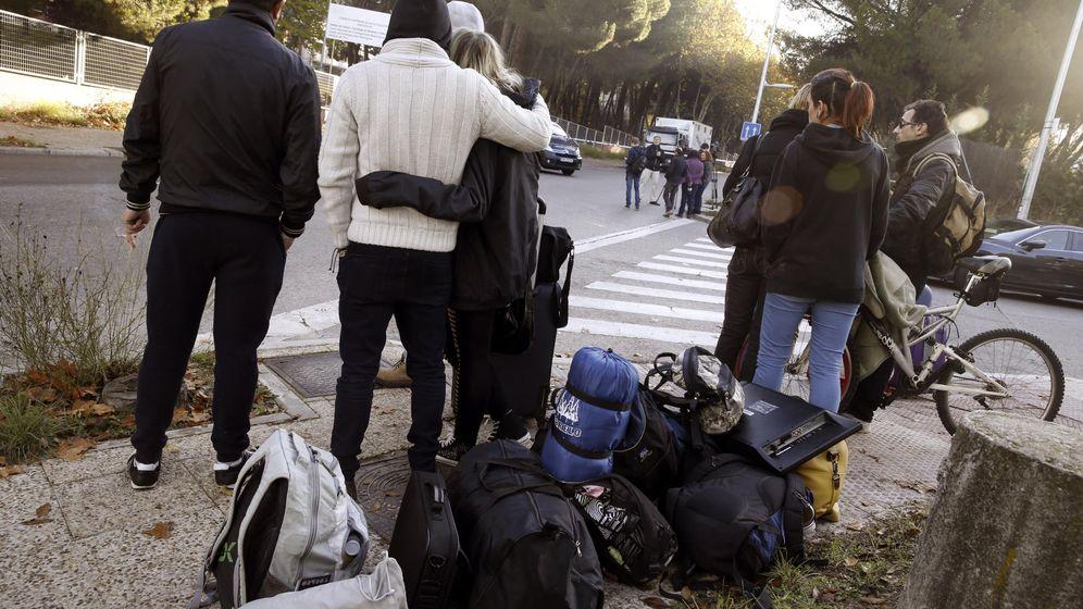 Foto: Más de 80 detenidos en el desalojo del colegio mayor San Juan Evangelista