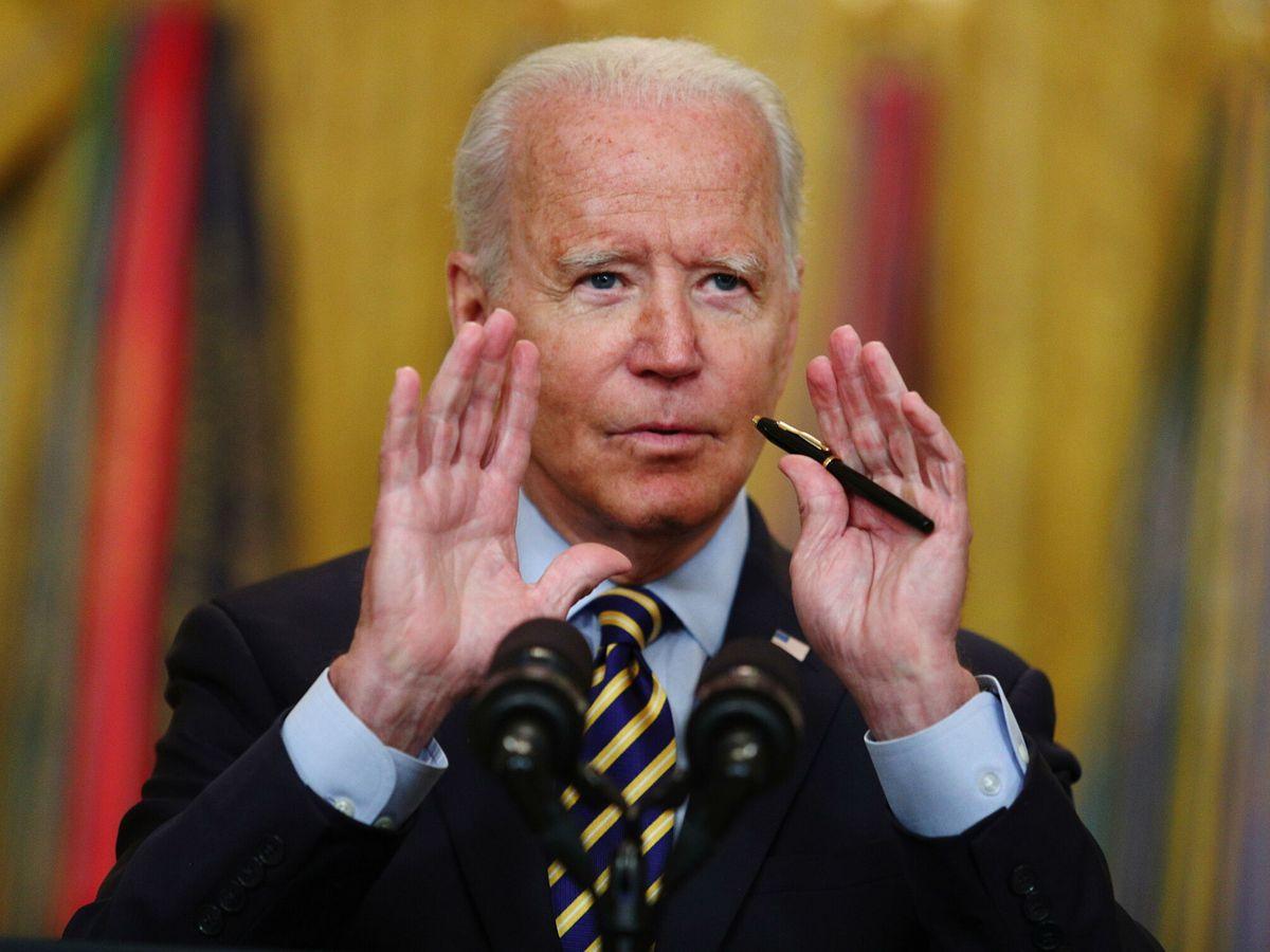 Foto: El presidente de EEUU, Joe Biden. (EFE)
