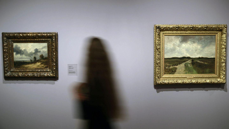 Visitantes en una exposición en el Museo Thyssen (EFE)