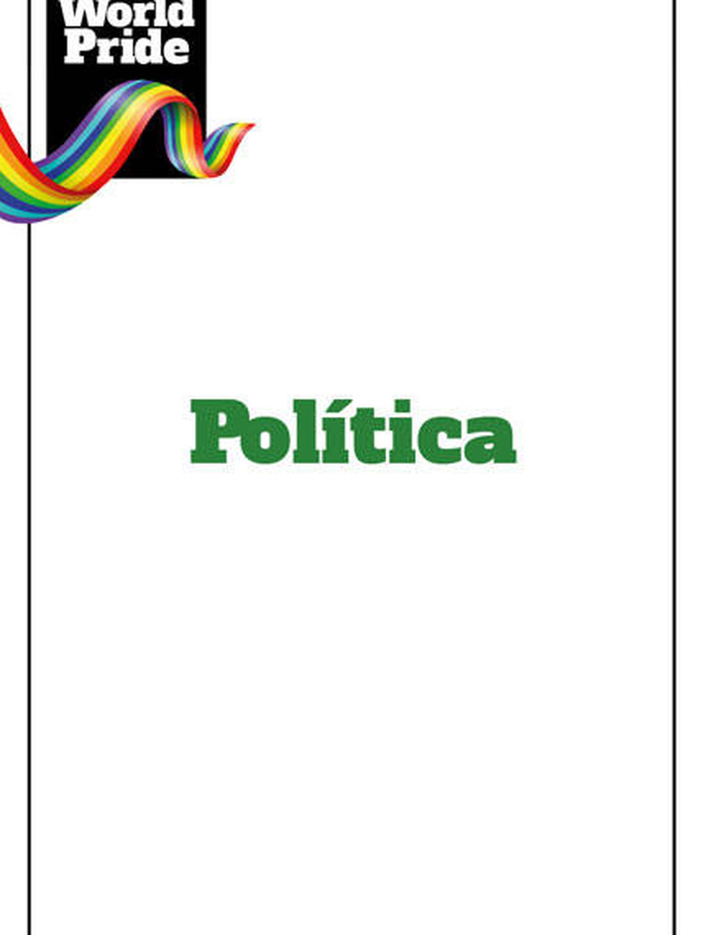 Orgullo LGTBI 2017: Política.