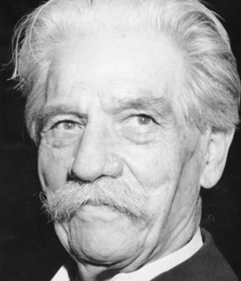 Foto: Albert Schweitzer, un hombre de verdad  en el genocidio más sangrante de la historia