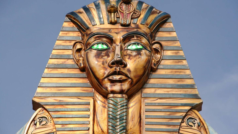 Los egipcios si tenían un pigmento para el azul (y su correspondiente palabra).