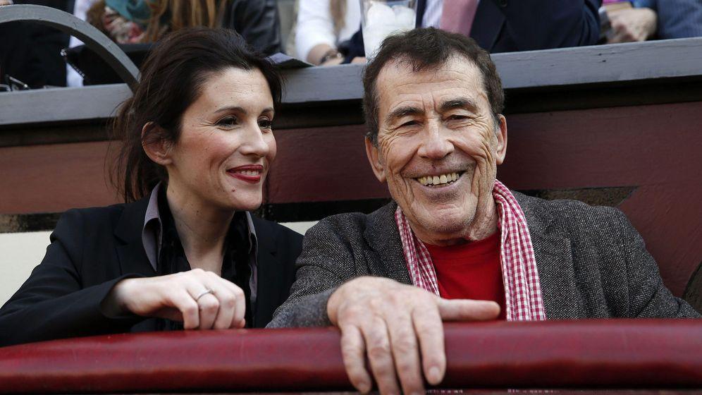 Foto: Sánchez Dragó y Ayanta en una imagen de 2013. (EFE)