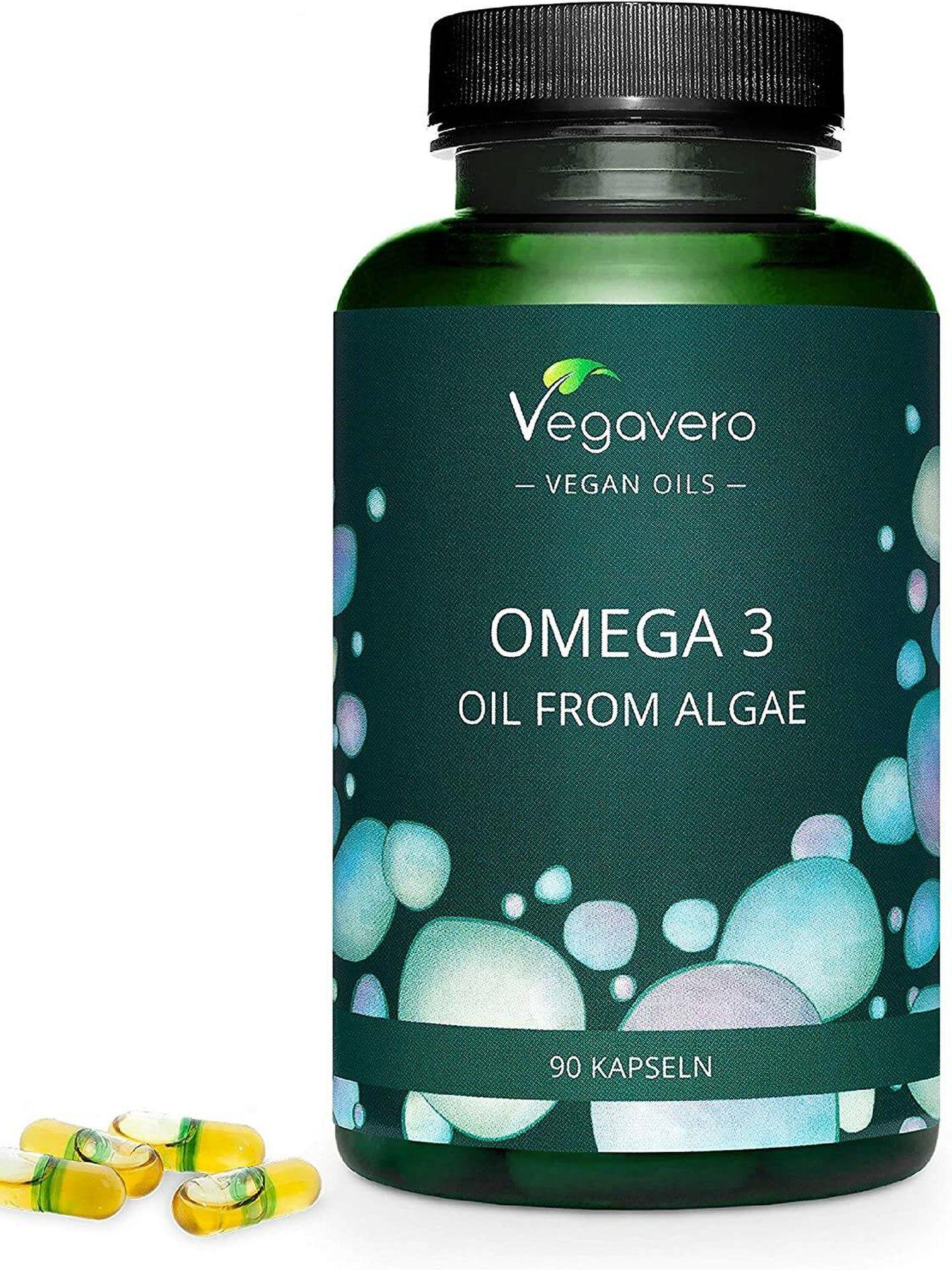 Vegavero Omega 3 a la venta en Amazon. (Cortesía)