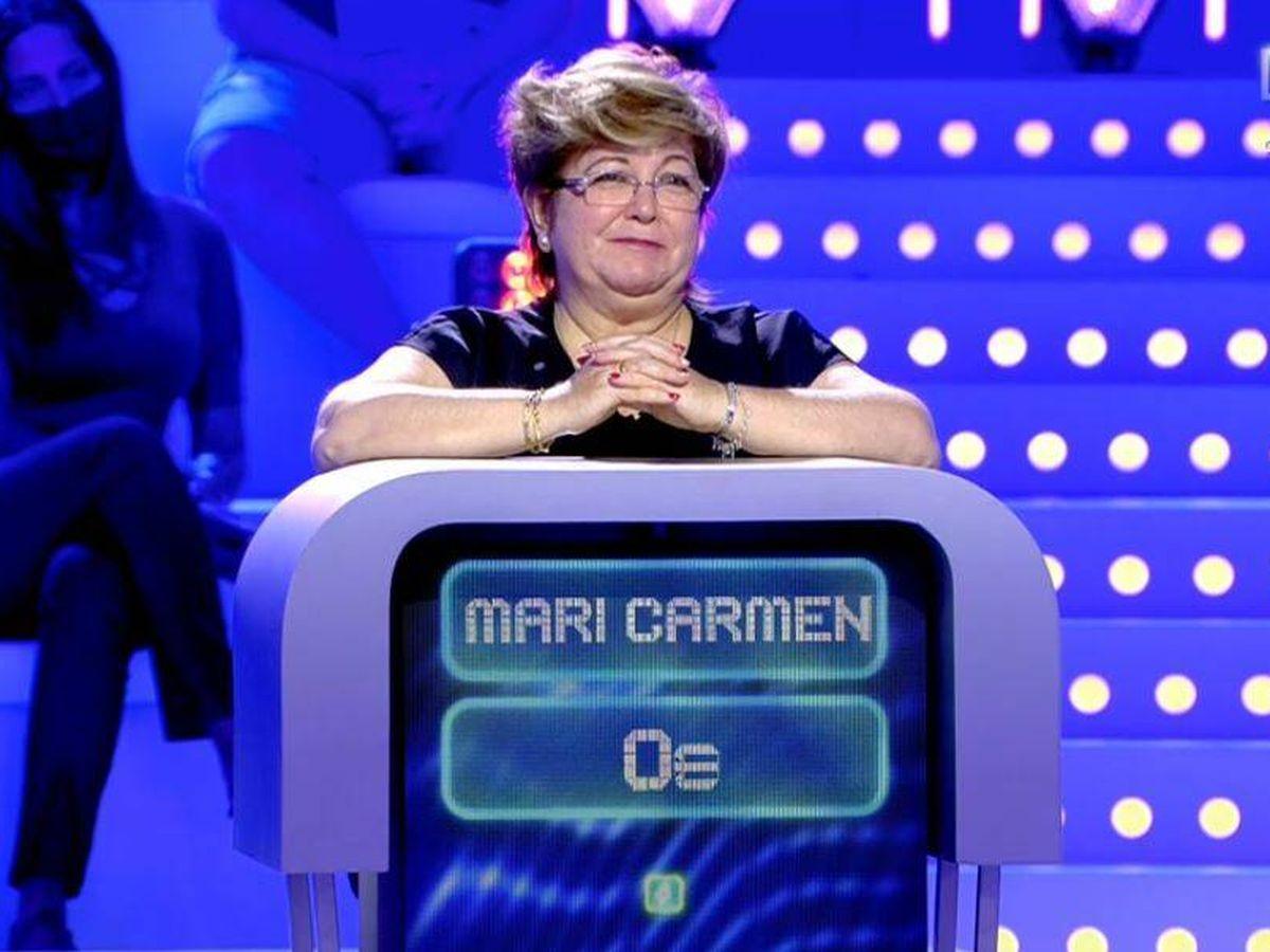 Foto: Mari Carmen, concursante de 'Alta tensión. (Mediaset España)