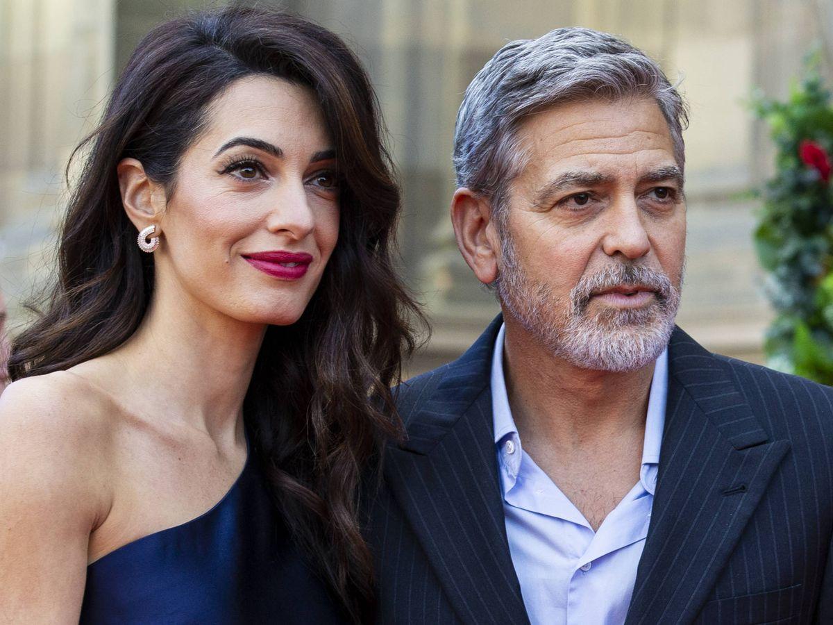 Foto: George y Amal Clooney, en una imagen de archivo. (Getty)