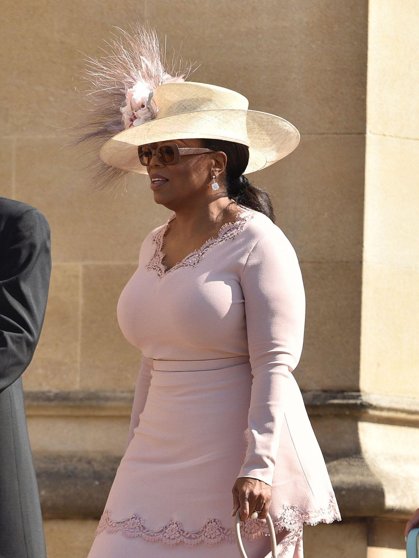 Oprah Winfrey, en la boda de los Sussex. (EFE)
