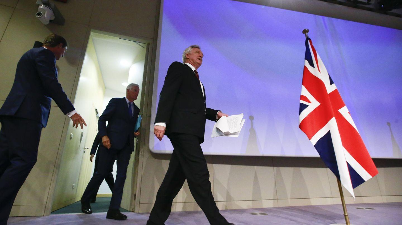 Tercera ronda de negociaciones sobre el Brexit. (Efe)
