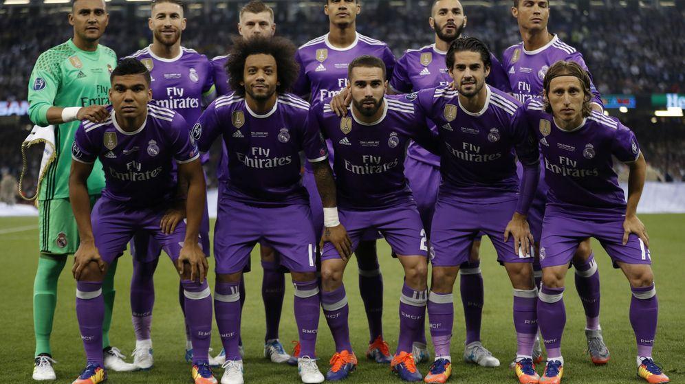 Foto: El Real Madrid repite el once de Cardiff. (Reuters)