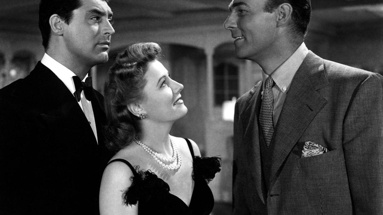 Cary Grant, Irene Dunne y Randolph Scott. (Cordon)