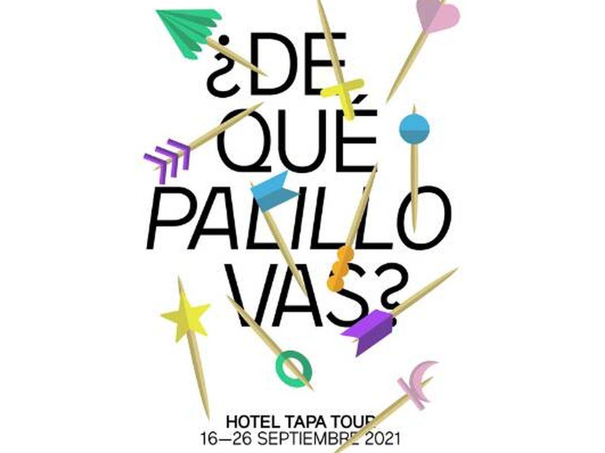 Foto: ¿De qué palillo vas?, lema de Hotel Tapa Tour.