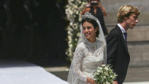 Un vestido, siete novias: la inspiración de Sassa de Osma con su look nupcial