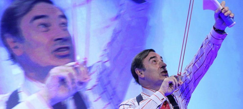 Foto: Pedro J. Ramírez, durante una presentación de contenidos en 'El Mundo'. (EFE)