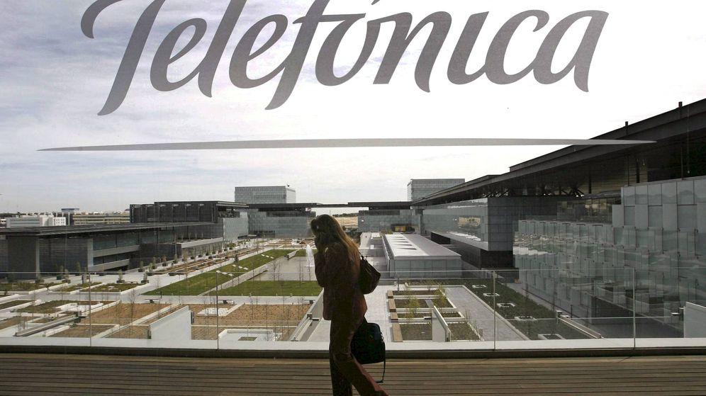 Foto: Sede central de Telefónica, el llamado Distrito C en Las tablas (Madrid). (EFE)