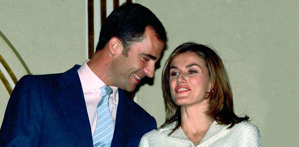 Foto: Los entonces príncipes Felipe y Letizia. (Gtres)