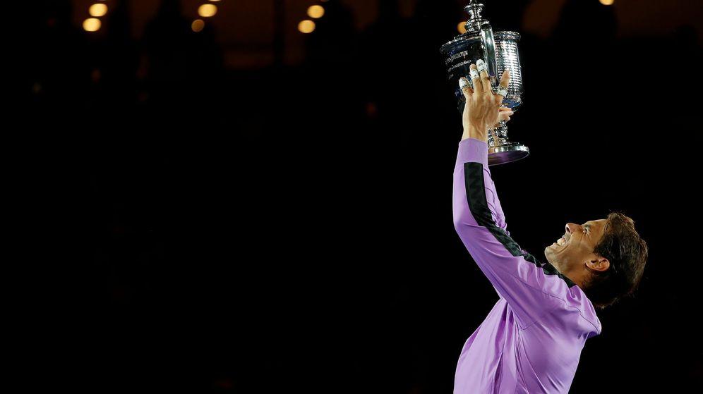 Foto: Rafa Nadal, tras ganar su cuarto US Open. (Reuters)