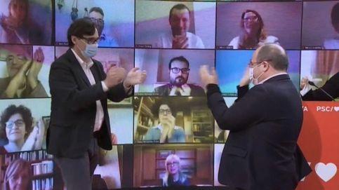 Un sondeo sitúa a Illa a la cabeza entre el resto de los candidatos al 14-F en Cataluña