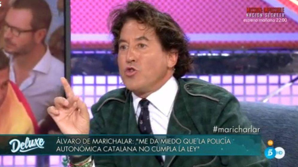 Foto: Álvaro de Marichalar en 'Sábado Deluxe'.