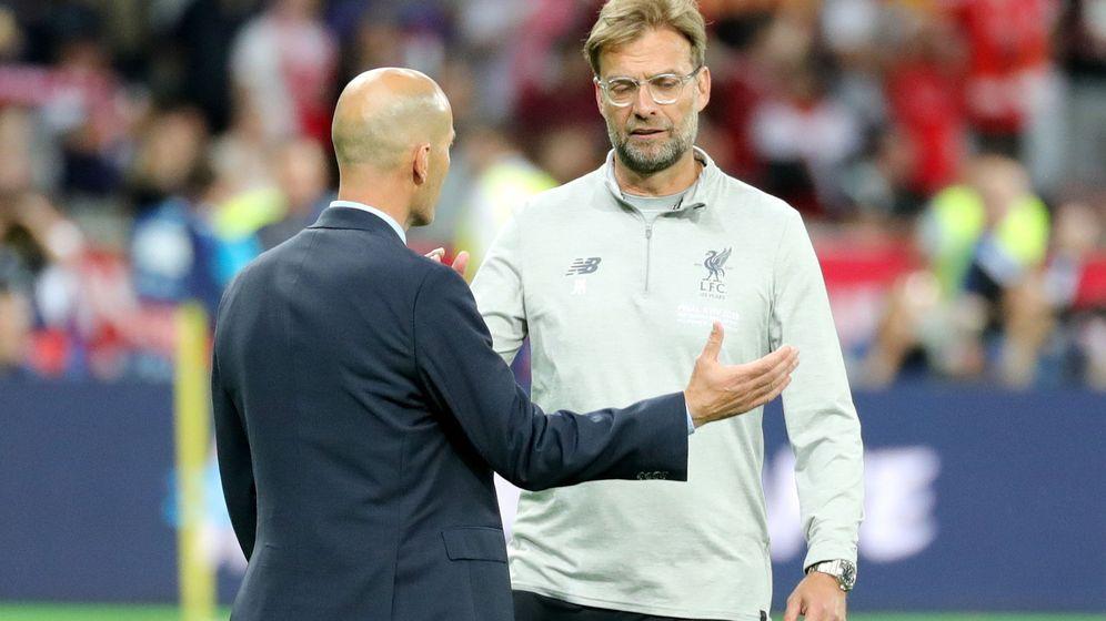 Foto: Klopp y Zidane, en la final de Champions. (EFE)