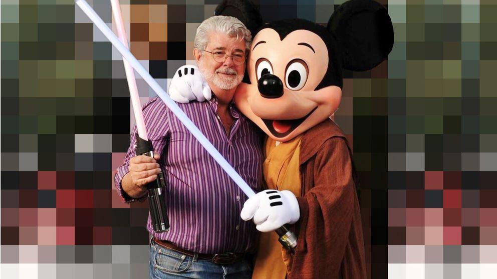 Lucas contra la mercantilización de 'Star Wars': Habló de putas La Tacones