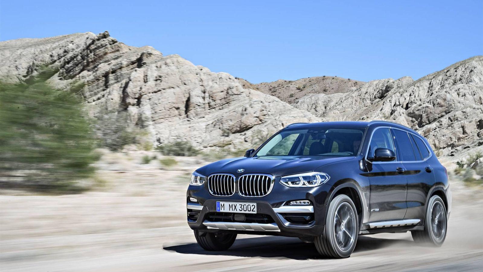 Foto: Más tecnologías, más conducción autónoma en el nuevo BMW X3.