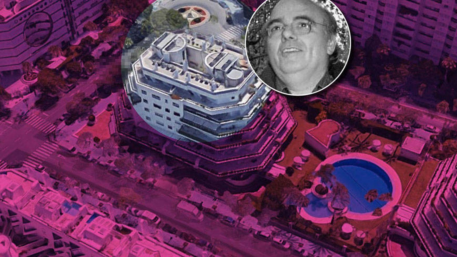 Foto: El ático de José Luis Sierra en un fotomontaje elaborado por Vanitatis.