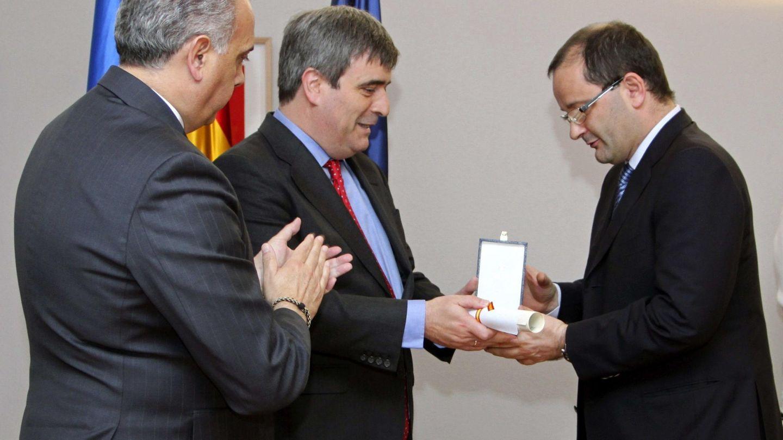 Patrick Baumann redibió en 2015 la Medalla de Oro de la Real Orden del Mérito Deportivo 'por su servicio al deporte español, y en especial al baloncesto'. (CSD)