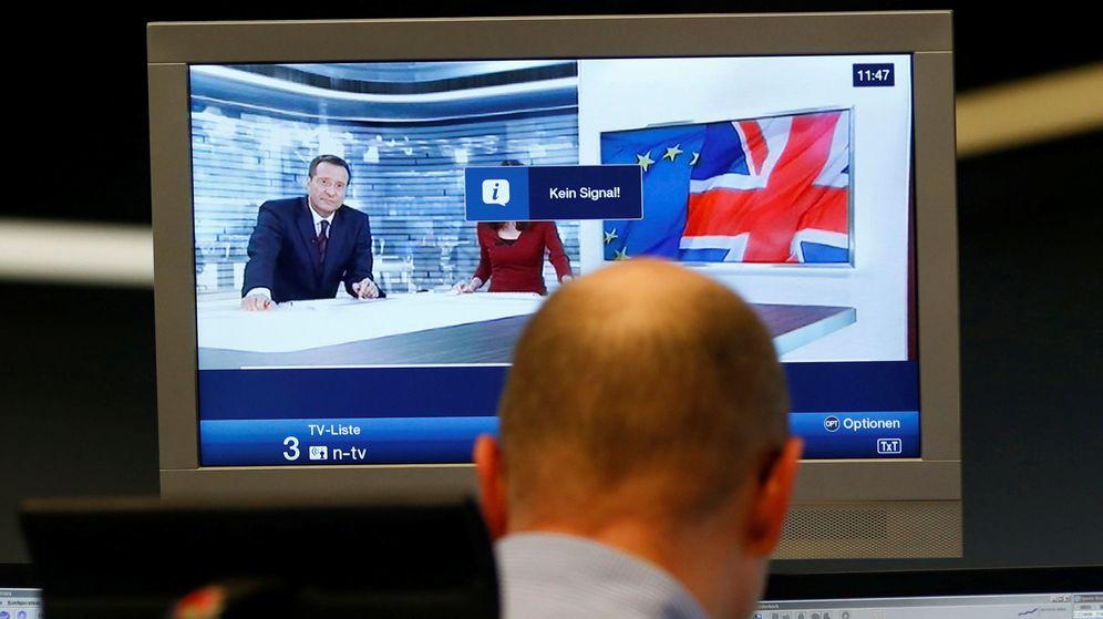 Foto: Trader de la bolsa de Londres (Reuters)