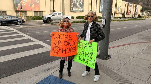 Carrie Fisher y Ellen DeGeneres regalan entradas en Los Ángeles para ver 'Star Wars'