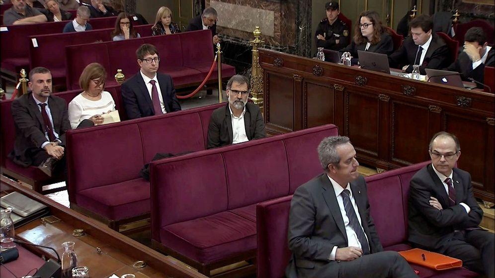 Foto: Algunos de los acusados en el 'procés'. (EFE)