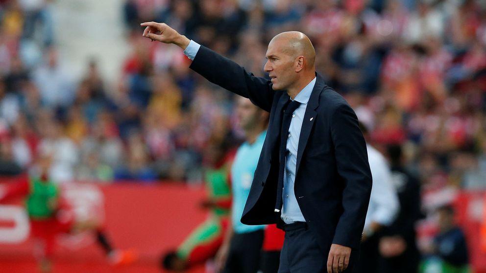 La contradiccio´n de Zidane: si no va a cambiar nada, el Madrid estará perdido