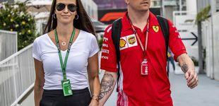 Post de La mujer de Raikkonen atiza a Hamilton: