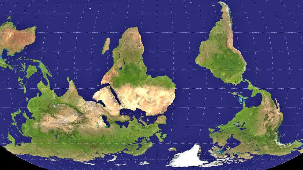 La mentira de los mapas o cómo nos engaña la forma geoide de la Tierra