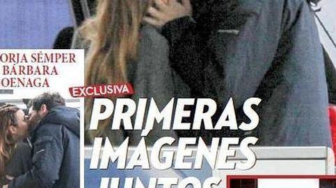 Borja Sémper y Bárbara Goenaga, primeras imágenes besándose