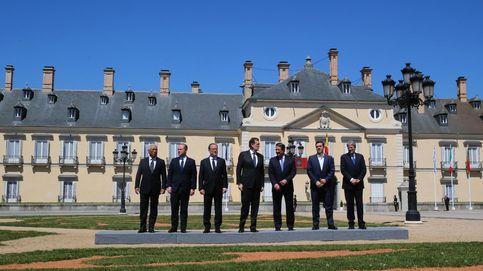 La reunión de los seis líderes del sur de Europa con Rajoy en El Pardo