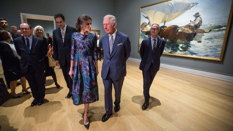 El príncipe de Gales y la Reina. (Reuters)