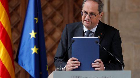 Torra, al Rey: Lo que es una preocupación es el Estado español hoy en Europa