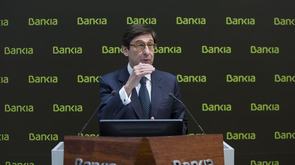 Foto: El presidente de Bankia, José Ignacio Goirigolzarri, durante la presentación de los resultados anuales de la entidad. / EFE