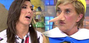 Post de Nueva pillada en 'Sálvame': las cámaras graban a Chelo insultando a Paz Padilla
