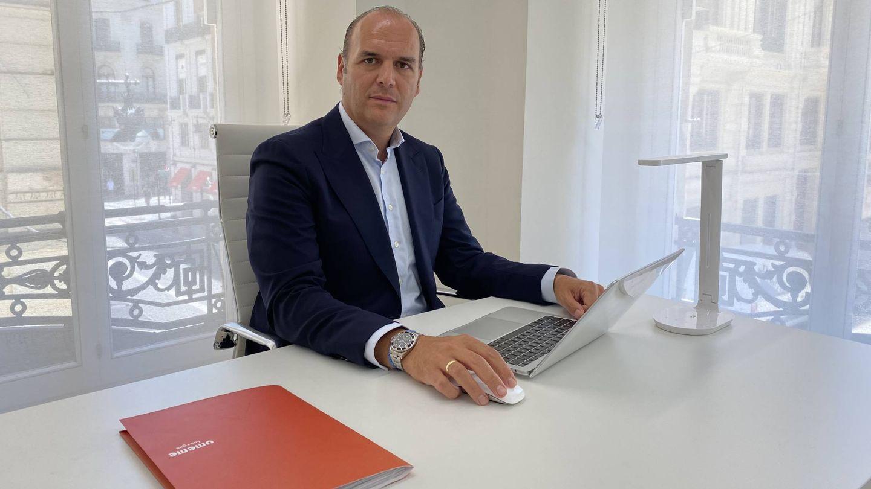 Roberto Giner, CEO de Umeme Energía, en su despacho en Valencia.